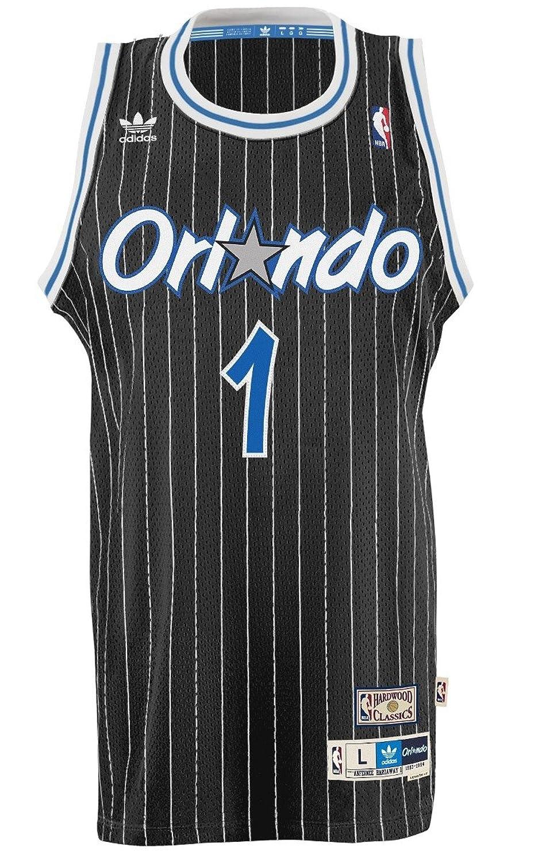 4088d8d6c63 ... Amazon.com Anfernee Penny Hardaway Orlando Magic Adidas NBA Swingman  Jersey - Black Sports Outdoors Orlando Magic Jersey Tracy McGrady All-Star  ...