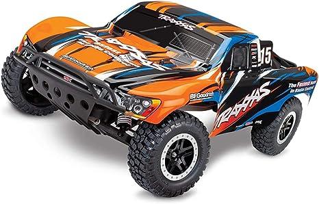 Traxxas RC Short Course Truck Slash orange X RTR - Camión ...