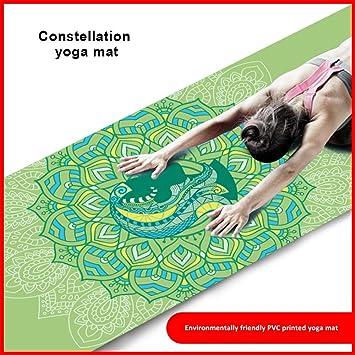 BARCTELRT Estera de Yoga, Estera de Yoga de Goma Natural ...