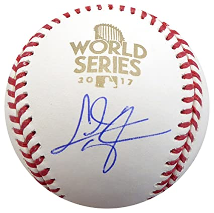 3d2c2dea662 Chris Taylor Autographed Signed Official 2017 World Series Baseball Los  Angeles Dodgers - Certified Authentic