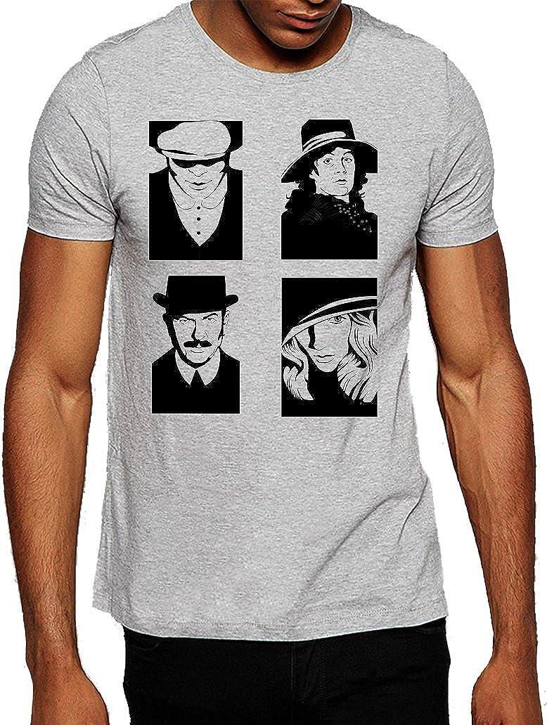 Peaky Blinders diseño de caracteres arte ventilador camiseta ...