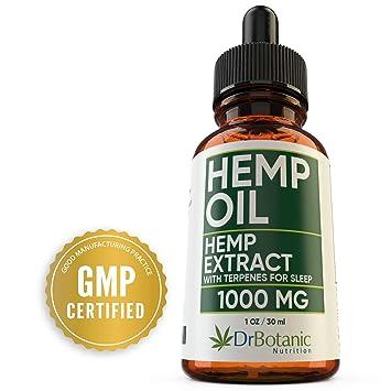 Hemp Oil For Anxiety: With 1000mg Hemp Extract: Valerian Root and Melatonin. Helps
