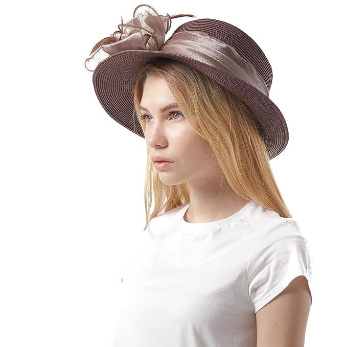 Elegante cappello da cerimonia in stile inglese b7d4fecefadc