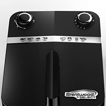 Amazon.com: Brentwood Select AF-32SS 3.4 Quart Rapid Electric Air Fryer, Timer & Temp. Control, Stainless Steel: Kitchen & Dining