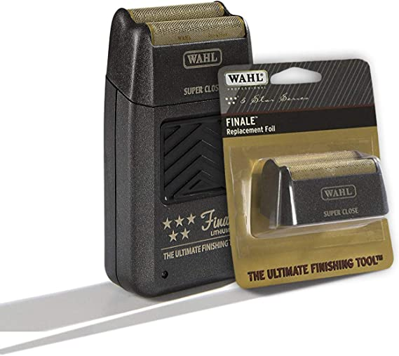 Wahl Finale Lithium - Pack: Maquina de afeitar + Cuchilla de ...