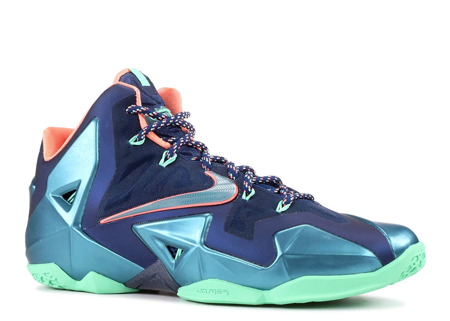 online retailer 6b27d 2364c Amazon.com | Nike Lebron XI Miami Vs Akron Men's Shoes Brave ...