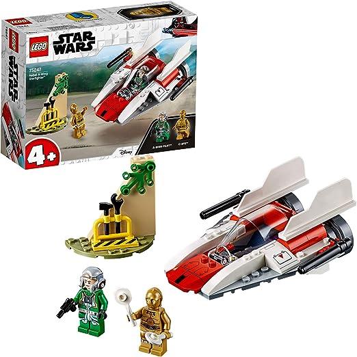 LEGO Star Wars - Caza Estelar Rebelde Ala-A, juguete de ...