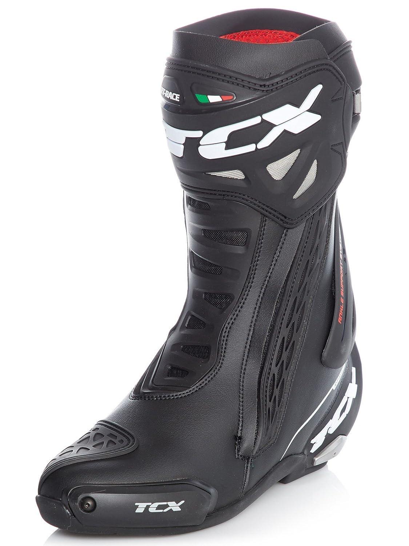e8dc4e3466e73 Amazon.com: TCX RT Race Men's Street Motorcycle Boots - Black / 42 ...