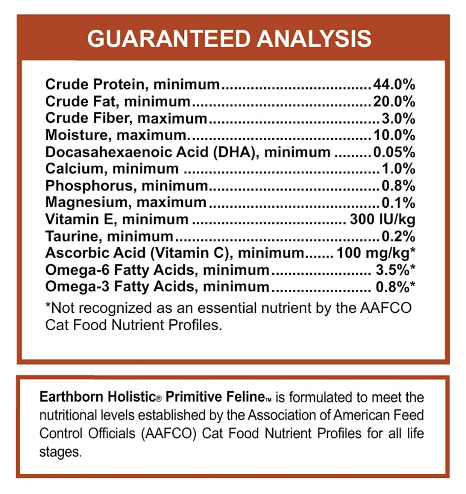 Earthborn Grain Free Primitive Feline 14 lbs by Earthborn Holistic (Image #5)