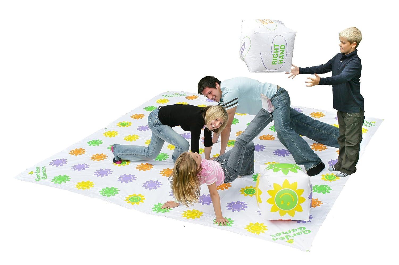 Garden Games 510 - Get Knotted mit großer Kunststoffmatte, 3 x 3 m Garden Games Limited