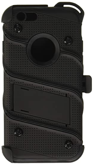 official photos 533f0 1ae6a iPhone 6s Case, Zizo w/ FREE Kickstand Holster Belt: Amazon.co.uk ...