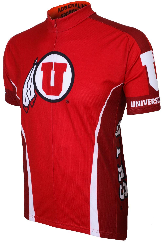Adrenaline Promotions NCAA Utah rumrennen Utes Radfahren Jersey