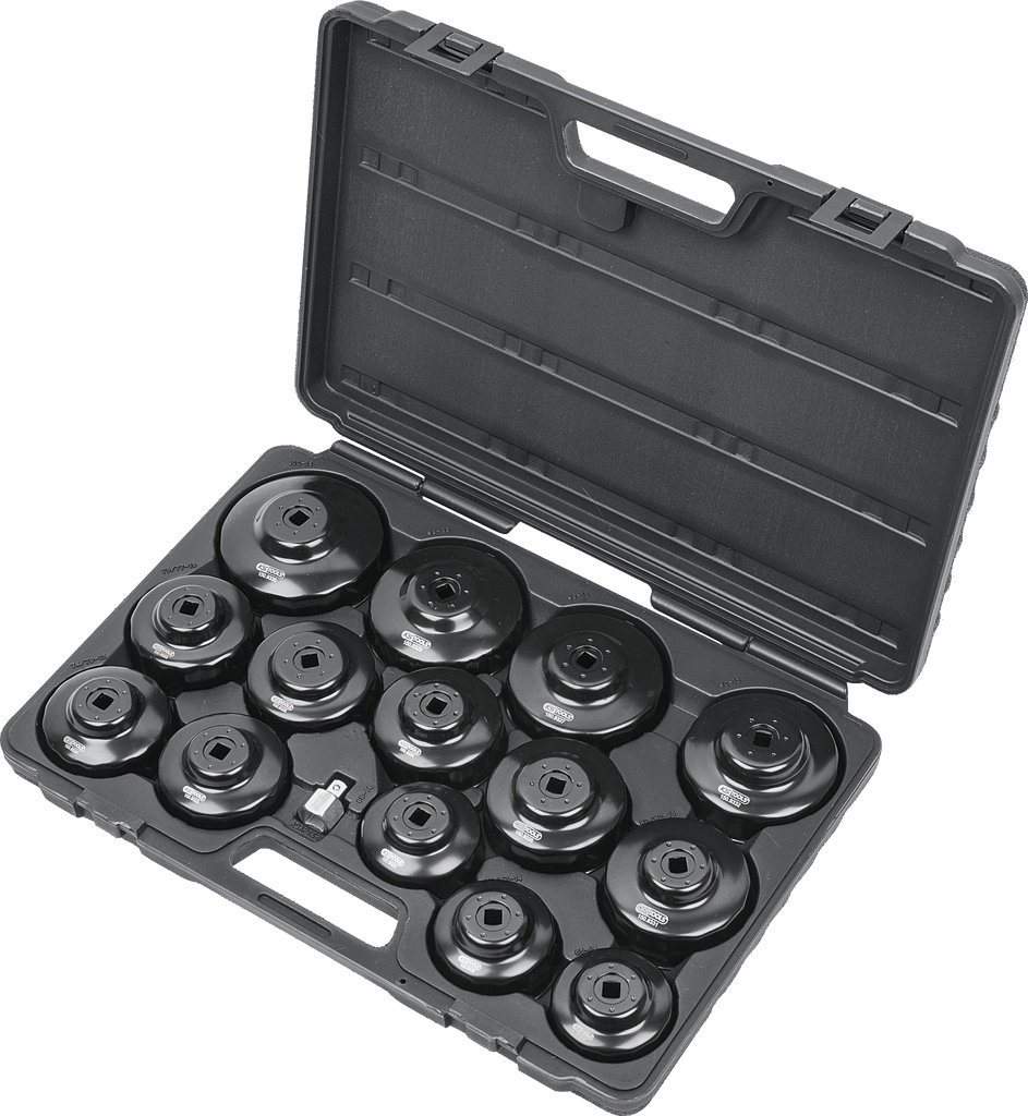 KS Tools 150.9320  3//8 Oil filter wrench set 15 pcs