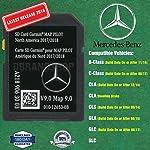 New SD Card Garmin Map Pilot 2018 2019 Mercedes-Benz Navigation Part