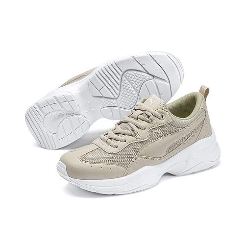 PUMA Cilia Sneaker Damen puma white gray violet puma silver