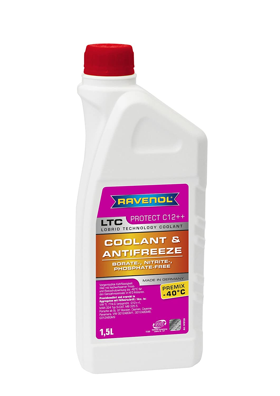 Ravenol J4D2126-150 LTC C12++ Coolant Antifreeze Premix MB 325.5 (G12 Plus Plus) (1.5 Liter) J4D2126-150-999