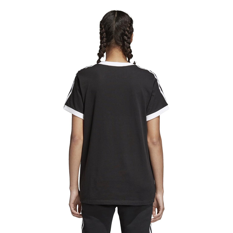 meet 8f363 fa01b adidas Originals Women s 3 Stripes T-Shirt at Amazon Women s Clothing store