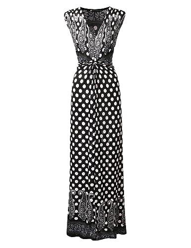 Bohemian Queen Empire Waist Printed Boho Maxi Dress With Plus Size