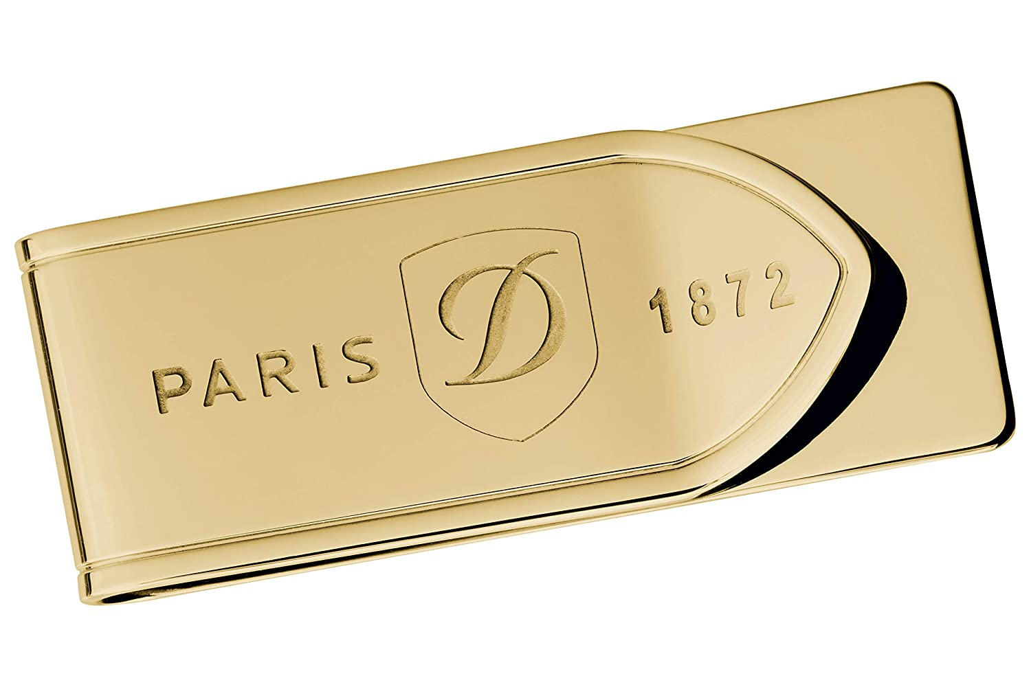 S.T Dupont D-003080 Yellow Gold PVD Money Clip