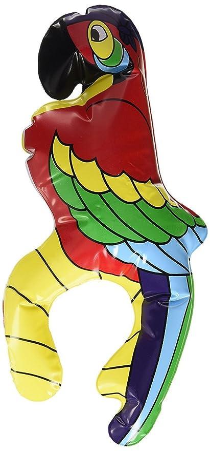 switty 28 cm internacional hinchable hombro sesión Parrot, disfraz ...