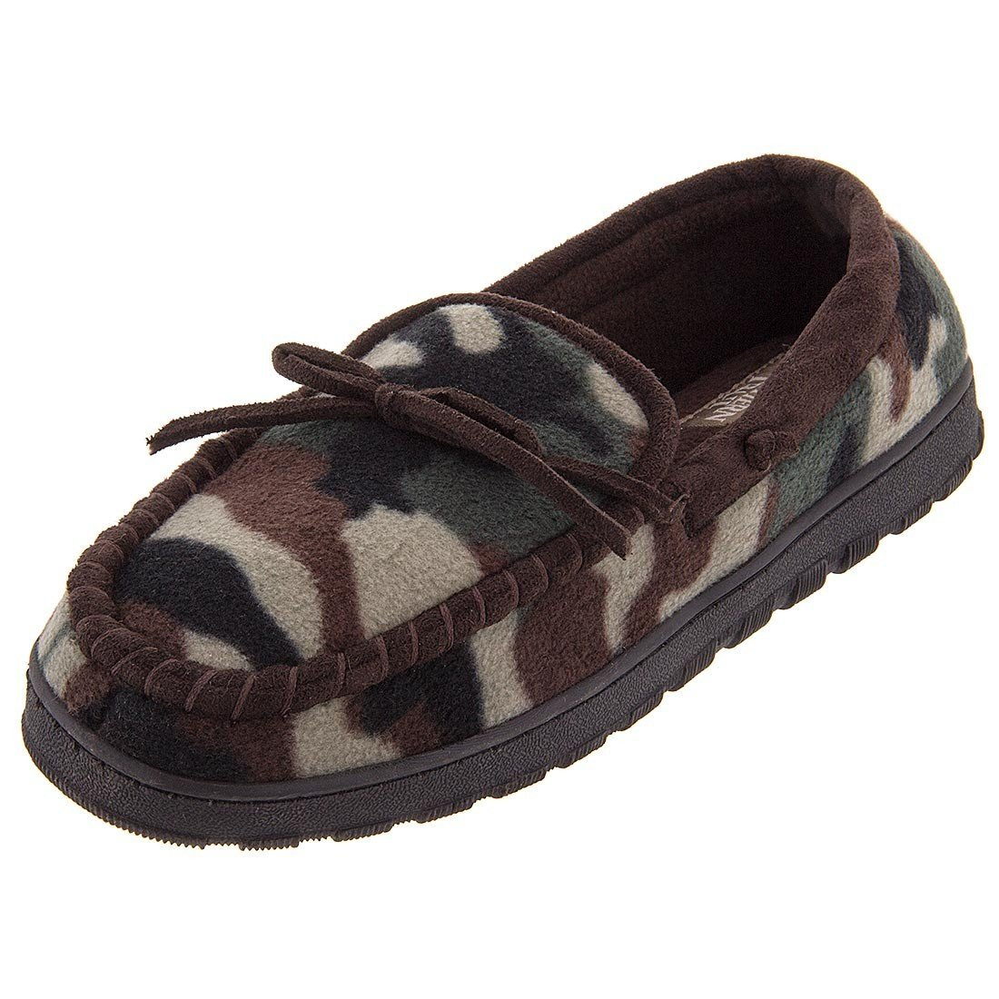 Northern Trail Mens Slippers 8-13 Camouflage Fleece Moccasin Slippers Mens B0060VP4PO Moccasin 591e78