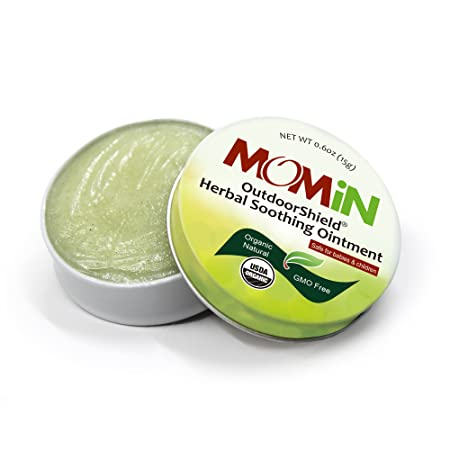Amazon.com: momin USDA Organic Calmante Ungüento, después de ...