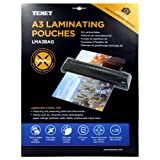 Texet A3 laminating pouches (2 x 125 microns)