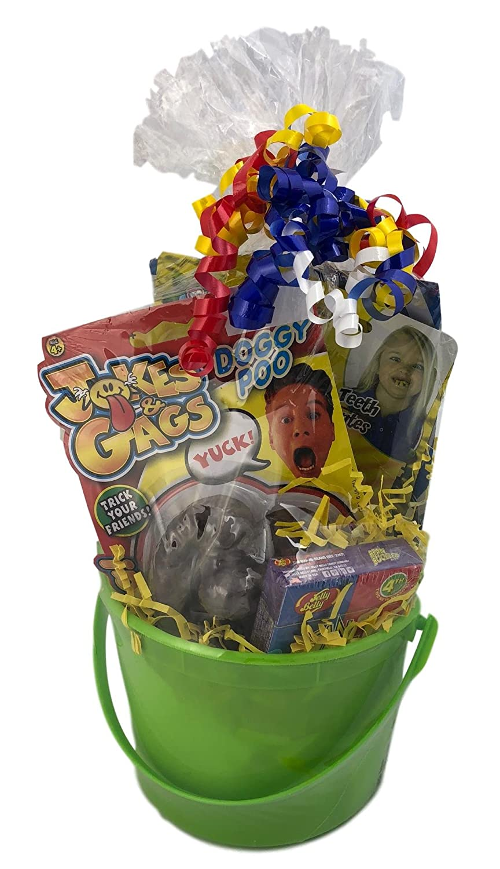 KKC Enterprise Kids Practical Jokes and Gags Themed Basket for Boys Or Girls