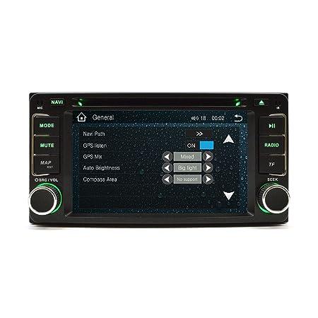 Amazon.com: OTTONAVI Toyota 4Runner 03-09 OEM Replacement In Dash Double Din Touch Screen GPS Navigation Radio: Car Electronics