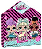 L.O.L Surprise Kids 2020 Christmas Xmas Advent Calendar with Stationary Colouring Sheets, Pencils