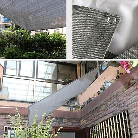 Toldos CJC Bloqueador Solar Tela De Sombra Red De Sombra Jardinería Cubierto Borde Malla De Sombra Sombrilla para Cochera Pérgola (Color : Gray, Size : 2x8m): Amazon.es: Hogar