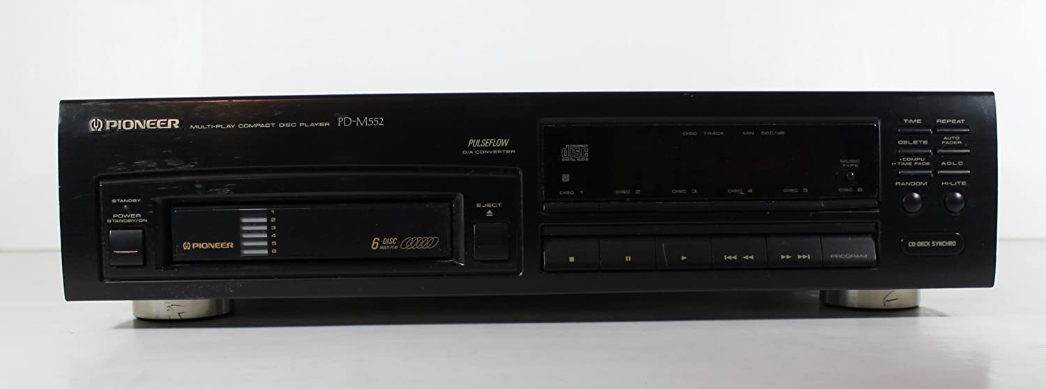 Pioneer PD-M552 6 Disc Compact Disc CD Changer Player