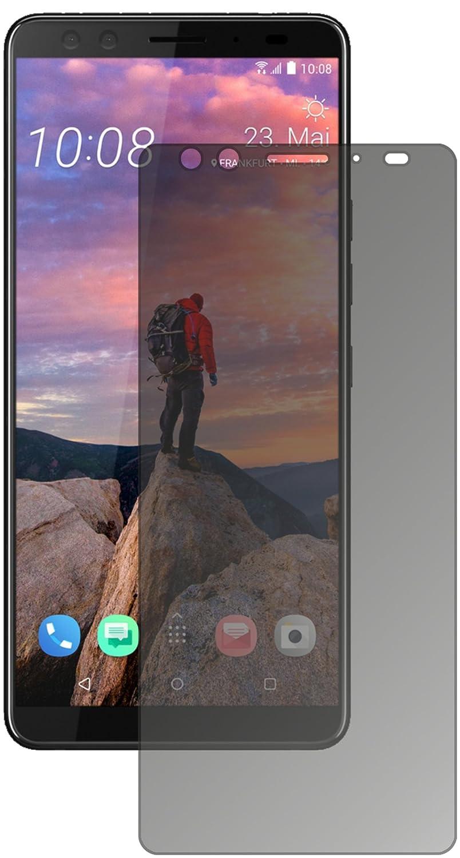 dipos I Protecci/ón de la Vista Compatible con HTC U12 Plus Protector de Pantalla Privacy