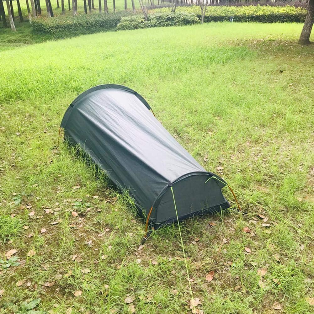 Trekking N//R Bivvy Bag Senderismo 1 Person Outdoor Camping Tent Instant Cover Saco De Dormir Equitaci/ón Sun Shelter para Acampar Monta/ñismo Bivy Tent