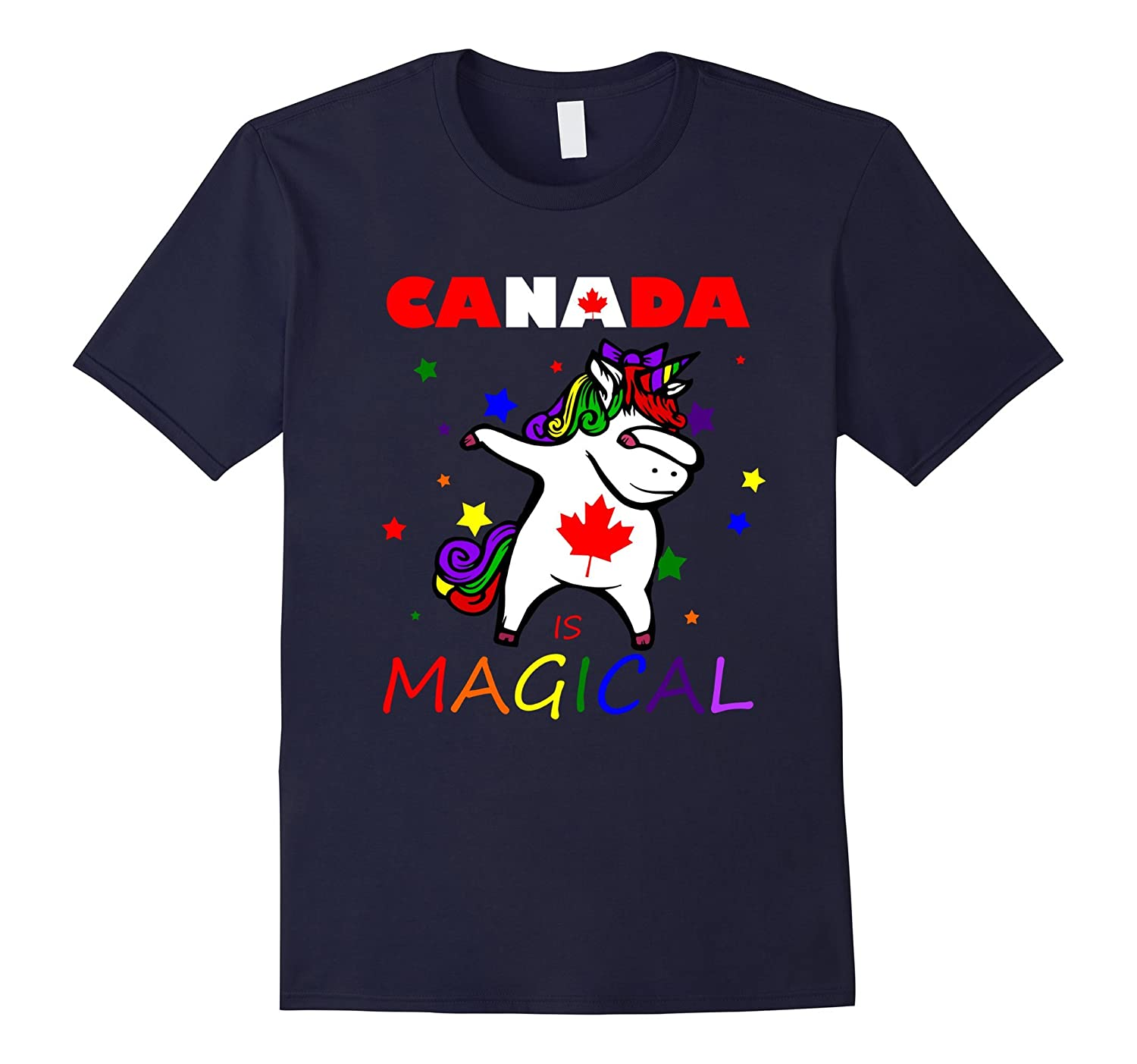 Canada Is Magical - Funny Unicorn T Shirt-Art