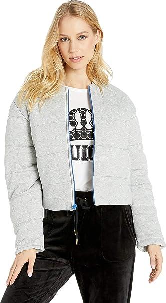 Amazon.com: Juicy Couture - Chaqueta de rizo acolchada para ...