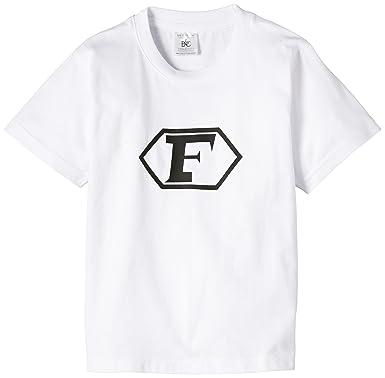 Touchlines Kinder Captain Future Logo T Shirt Kid163 White 110 116