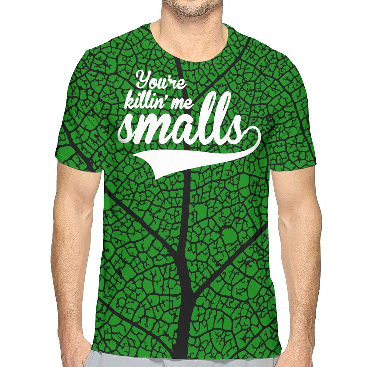 Mens Cool Short Sleeve Tshirts JJKKFG-H Youre Killing Me Smalls