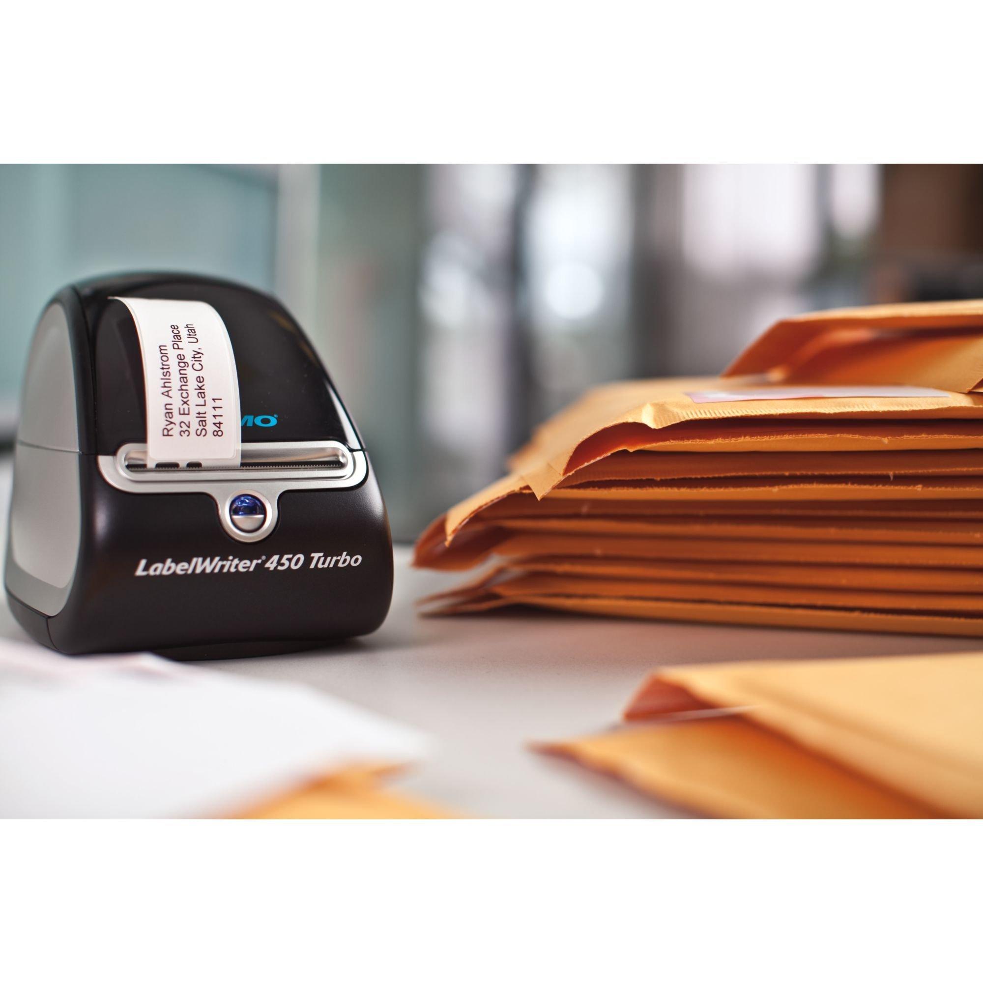 DYMO LabelWriter 450 Thermal Label Printer (1752264) + 2 bonus Multi-Purpose Rolls