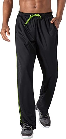 Higher State Mens Jogger Black Sports Gym Running Breathable Pockets