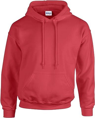 Hoodie Forest Green M Gildan Heavy Blend Childrens Unisex Hooded Sweatshirt Top