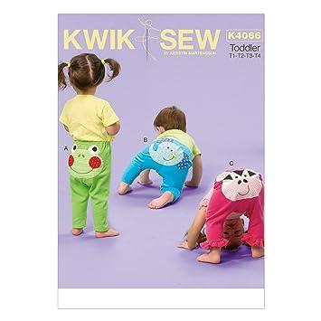 KWIK-SEW PATTERNS Kwik Sew Muster K4066 OS Größen, T1, T2 T3-T4 ...
