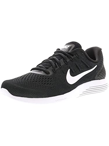 huge selection of 5bccd 5f000 Nike Mens Lunarglide 8 Running Shoe, Black/White-Anthracite, 11