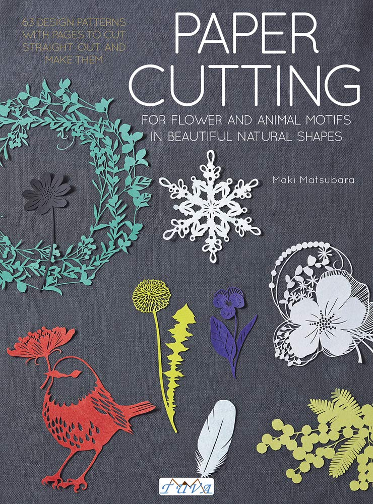 Paper Cutting For Flower And Animal Motifs In Beautiful Natural