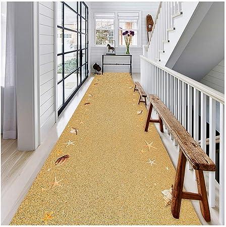 Alfombras de Escalera Alfombras De Corredor Alfombra Pasillo Pasillera para Puerta Cocina Escalera Estrecho Largo Personalizado Casa Hotel (Color : A, Tamaño : 1.4X2M): Amazon.es: Hogar