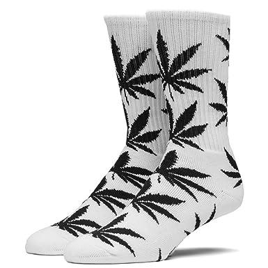 4ad75bf15a8a2 HUF Plantlife Socks White/Black - One Size