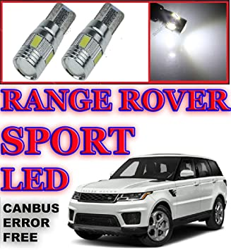 Landrover discovery td5 white LED side lamp  Bulbs x2