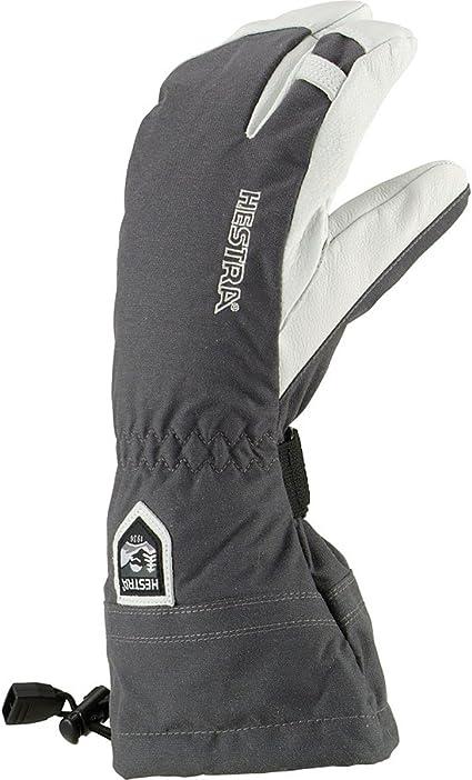 Amazon Com Heli 3 Finger Gloves Mens 11 Grey Cold