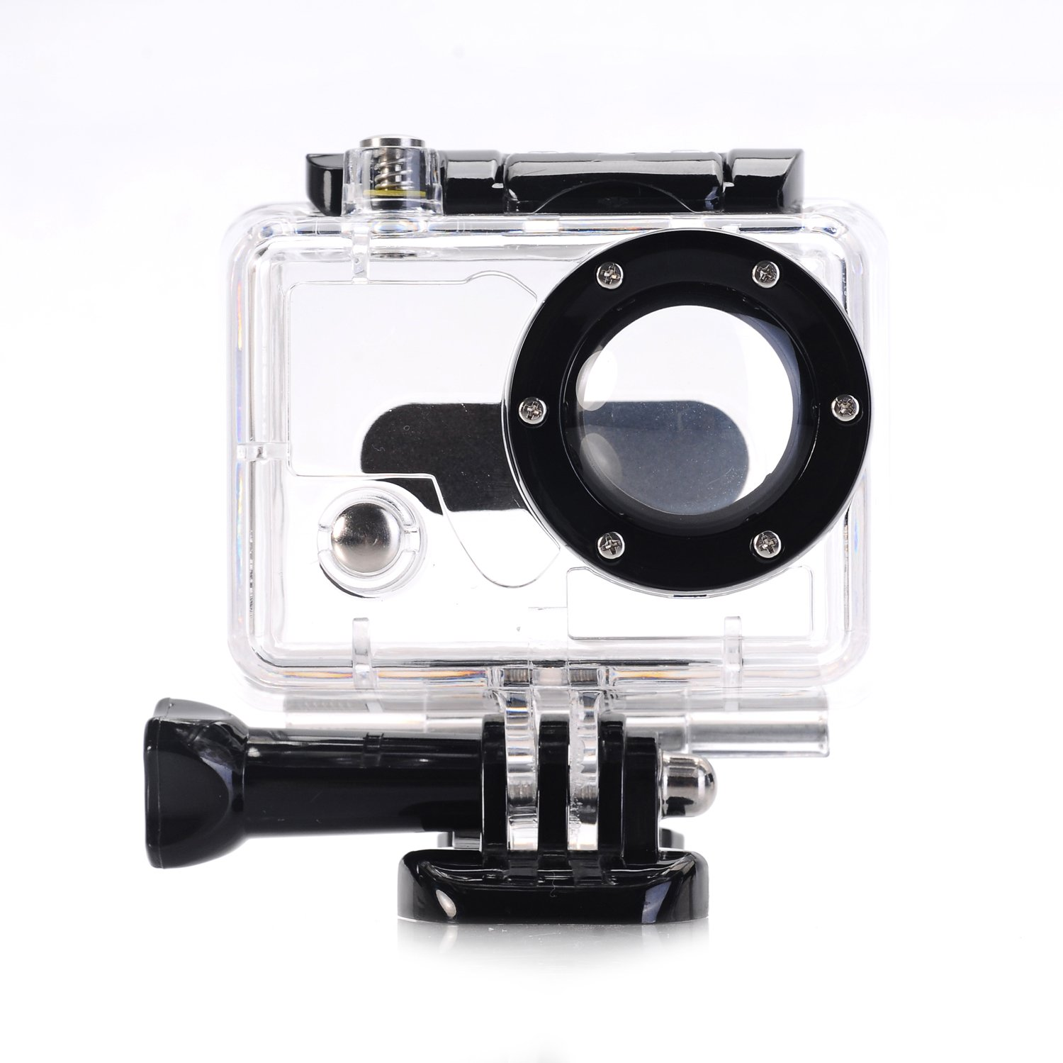 Nechkitter Replacement Waterproof Housing Case for GoPro HD Hero and HD Hero 2 Camera, Underwater Protective Housing Case