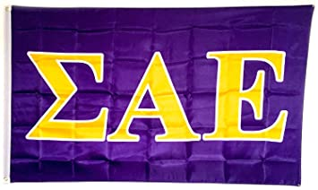 sigma alpha epsilon letter fraternity flag greek letter use as a banner large 3 x 5